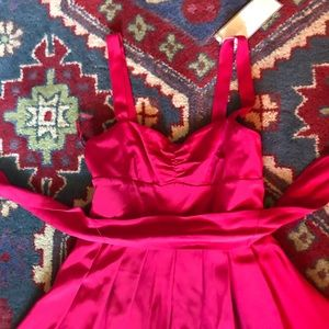 J Crew Red Special Occasion Dress 💃